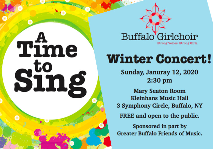 A Time to Sing Winter Concert